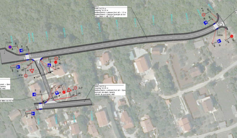 Izgradnja/rekonstrukcija prometnica u naselju Brzac