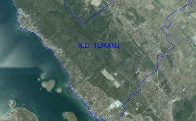 Nova katastarska izmjera katastraske općine Turanj