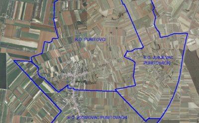 Nova katastarska izmjera na području općine Punitovci