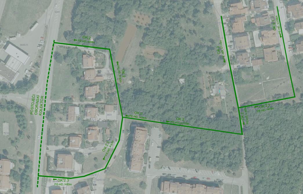 Sustav oborinske odvodnje dijela naselja Finida u gradu Poreču